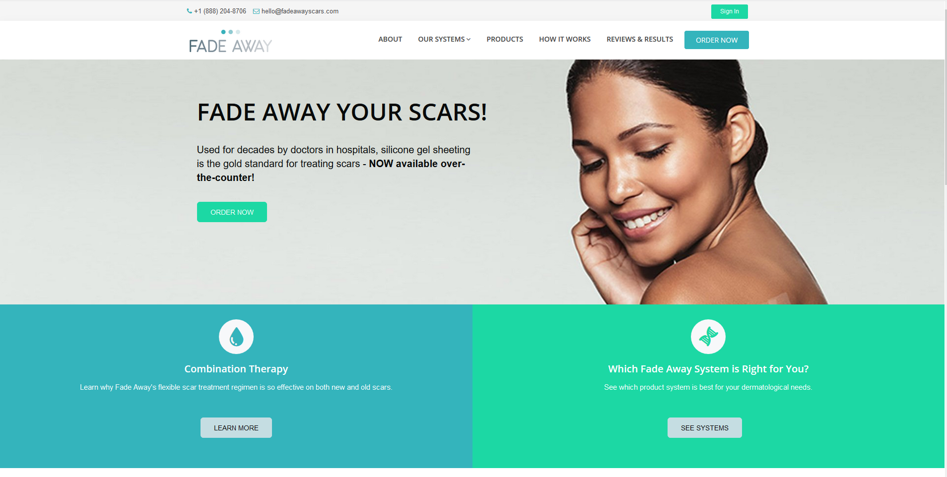 Fade Away Scars Project